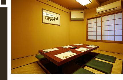 個室・・・八坂(やさか)
